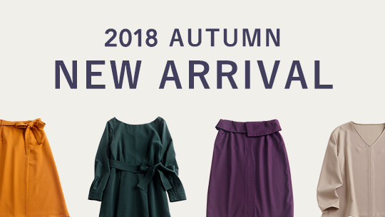NEW ARRIVAL 2018 AUTUMN